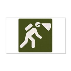 Spelunking sign Wall Decal