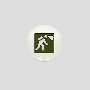 Spelunking sign Mini Button