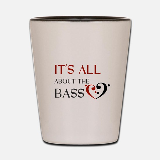 It's All About the Bass Shot Glass