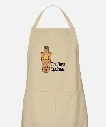 Tan Lines Optional Apron