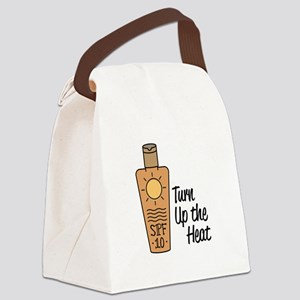 Turn Up Heat Canvas Lunch Bag