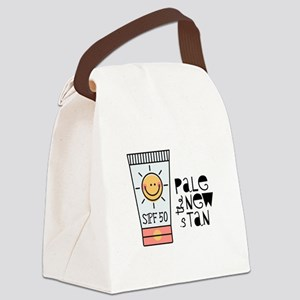 The New Tan Canvas Lunch Bag