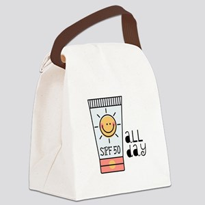 All Day Sunscreen Canvas Lunch Bag
