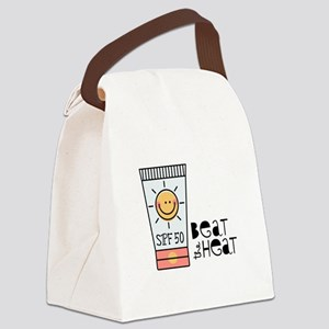 Beat The Heat Canvas Lunch Bag