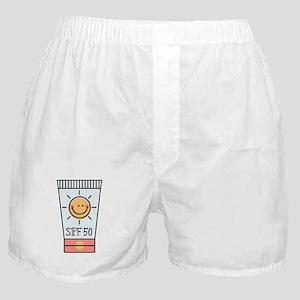 Sunscreen SPF 50 Boxer Shorts
