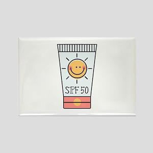 Sunscreen SPF 50 Rectangle Magnet