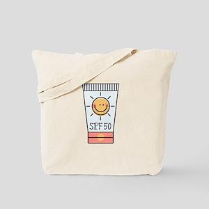 Sunscreen SPF 50 Tote Bag