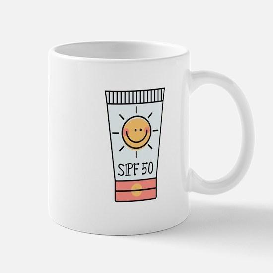 Sunscreen SPF 50 Mug