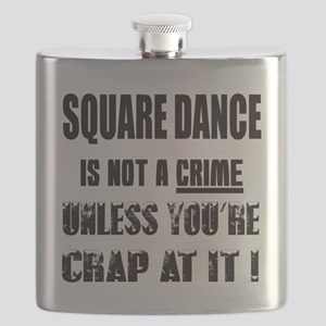 Square dance is not a crime Flask