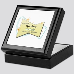 Instant Patent Attorney Keepsake Box