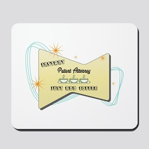 Instant Patent Attorney Mousepad