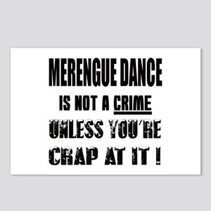Merengue dance is not a c Postcards (Package of 8)