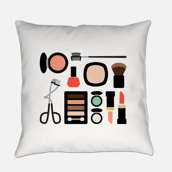 Variety Of Makeup Everyday Pillow