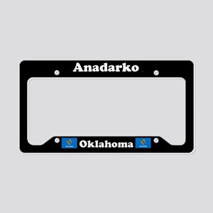 Anadarko OK - LPF License Plate Holder