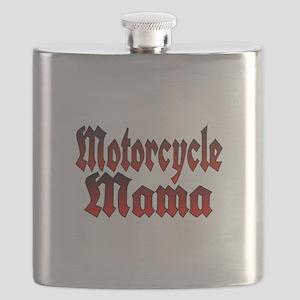 Motorcycle Mama Flask