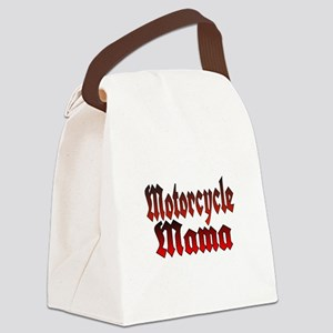Motorcycle Mama Canvas Lunch Bag