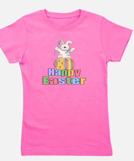 Happy Easter Artist Bunny T-Shirt