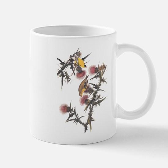 American Goldfinch Birds Audubon Vintage Art Mugs