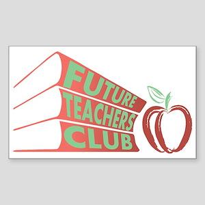 Future Teachers Club Sticker