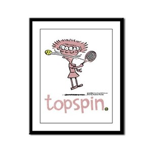Groundies - Topspin Framed Panel Print