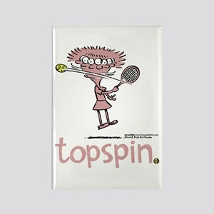 Groundies - Topspin Rectangle Magnet