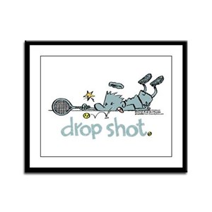 Groundies - Drop Shot Framed Panel Print