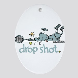 Groundies - Drop Shot Oval Ornament