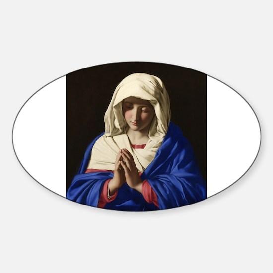 Virgin Mary Decal