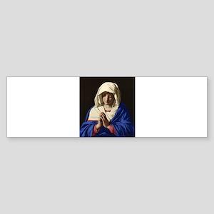 Virgin Mary Bumper Sticker