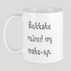 bukkake ruined my make-up Mug