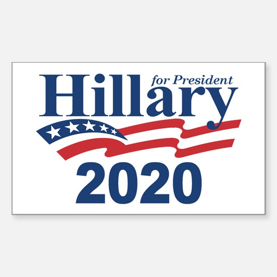 Hillary 2020 Decal