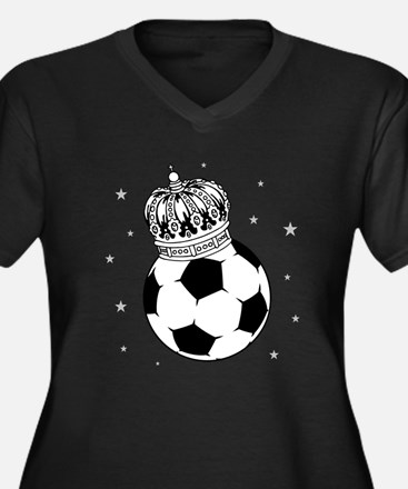 Soccer Royalty Plus Size T-Shirt