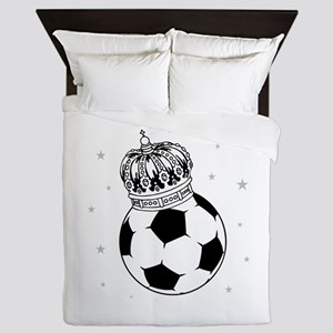 Soccer Royalty Queen Duvet