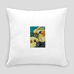 Cockatiel Love Bird Art Everyday Pillow