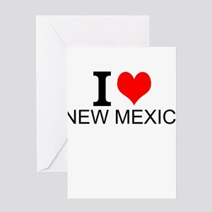 I Love New Mexico Greeting Cards
