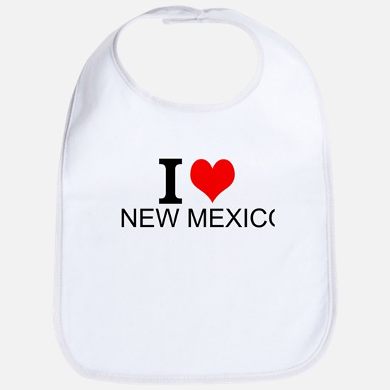 I Love New Mexico Bib