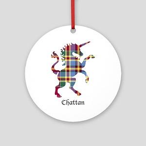 Unicorn - Chattan Round Ornament