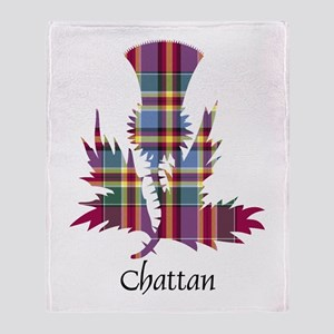 Thistle - Chattan Throw Blanket