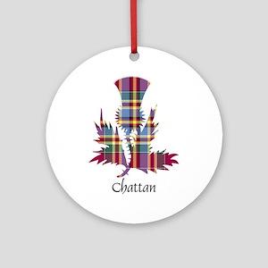 Thistle - Chattan Ornament (Round)