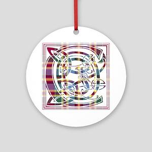 Monogram - Chattan Ornament (Round)