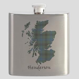 Map - Henderson Flask