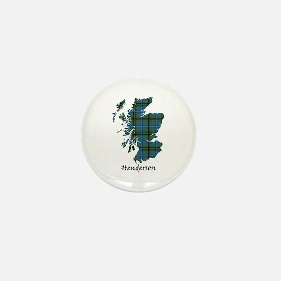 Map - Henderson Mini Button