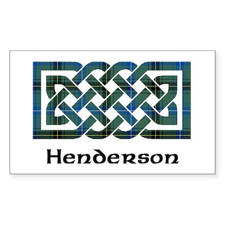 Knot - Henderson Sticker (Rectangle)