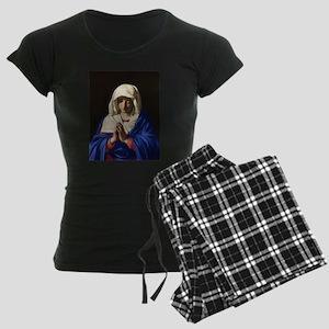 Virgin Mary Women's Dark Pajamas