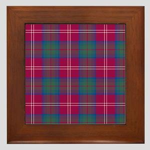 Tartan - Chisholm hunting Framed Tile