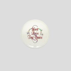 Live Love Tap Dance Mini Button