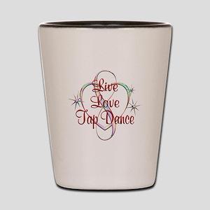 Live Love Tap Dance Shot Glass