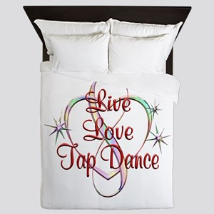 Live Love Tap Dance Queen Duvet