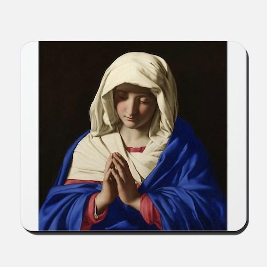 Virgin Mary Mousepad