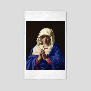 Virgin Mary Area Rug